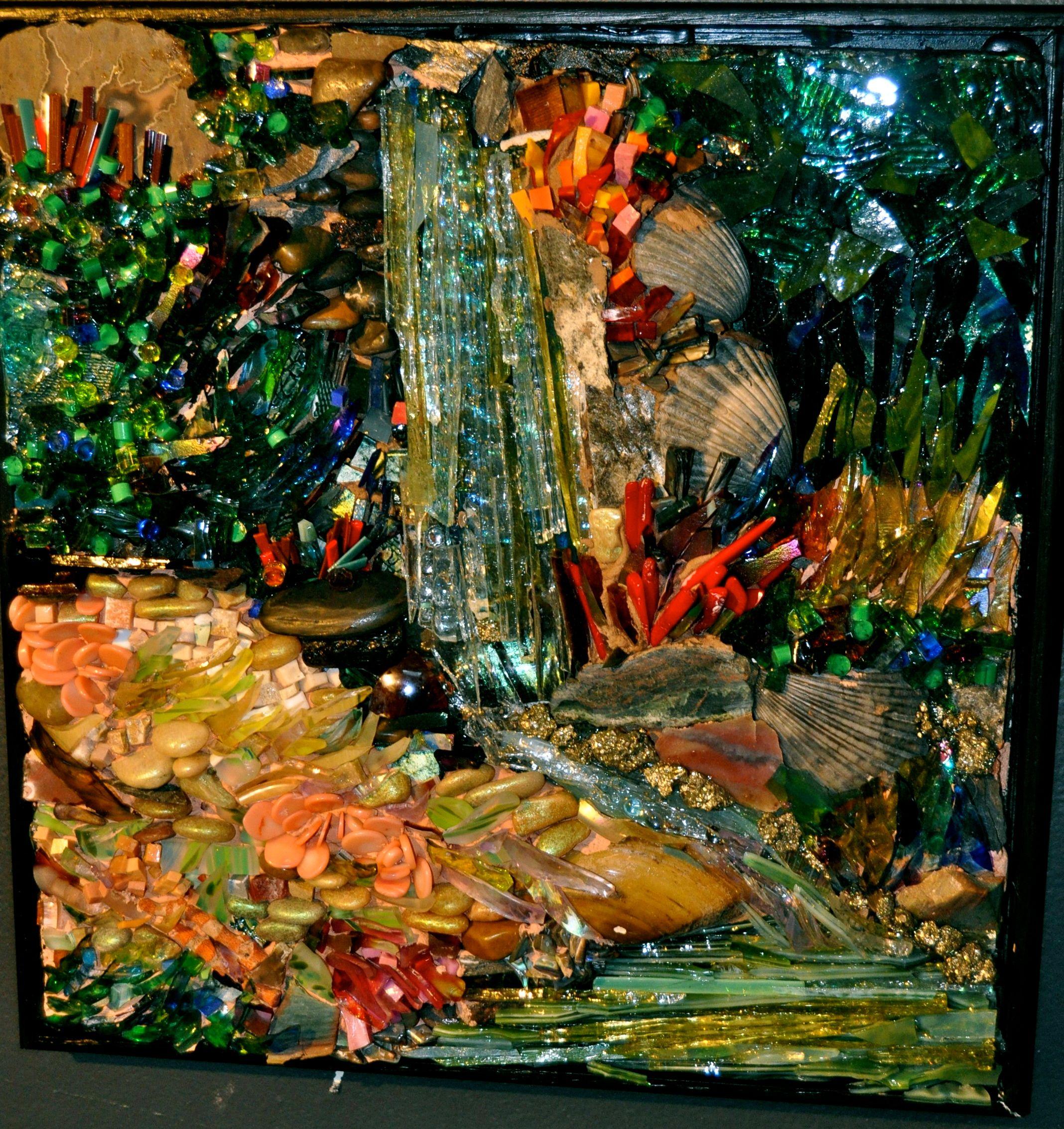 Pin Ross Contemporary Laura Rendlen Mosaic Artist