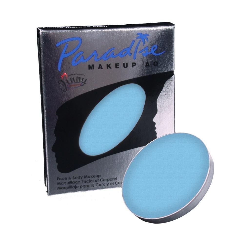 Mehron Blue Paradise Face Paint Refills Light Blue 0 25 Oz Blue Face Paint Body Painting Face Painting Designs