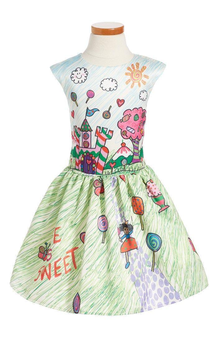 b498fc46e Halabaloo Candy Princess Dress | Products | Dresses, Toddler girl ...