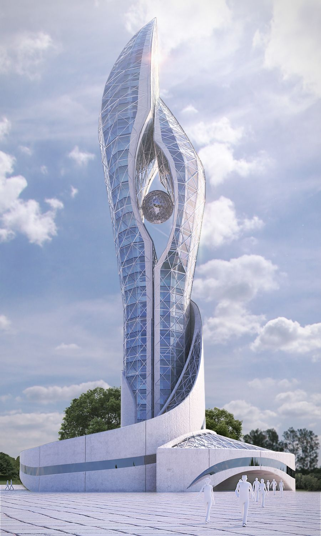 #arquitectura Moderna. Architecture Futuristic