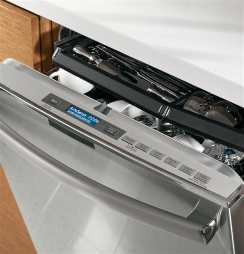 Ge Profile Series Stainless Steel Interior Dishwasher With Hidden Controls Pdt760ssfss Ge Dishwasher Smart Appliances Appliances