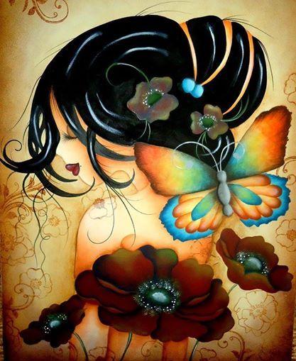 Mariposas Dibujos Pinturas Pinturas Africanas
