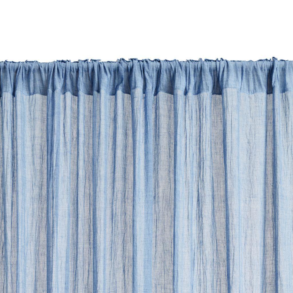 Ubrugte Gardin HIRSHOLM 1x135x245 blå | JYSK | barnrum | Gardiner, Barnrum BG-53