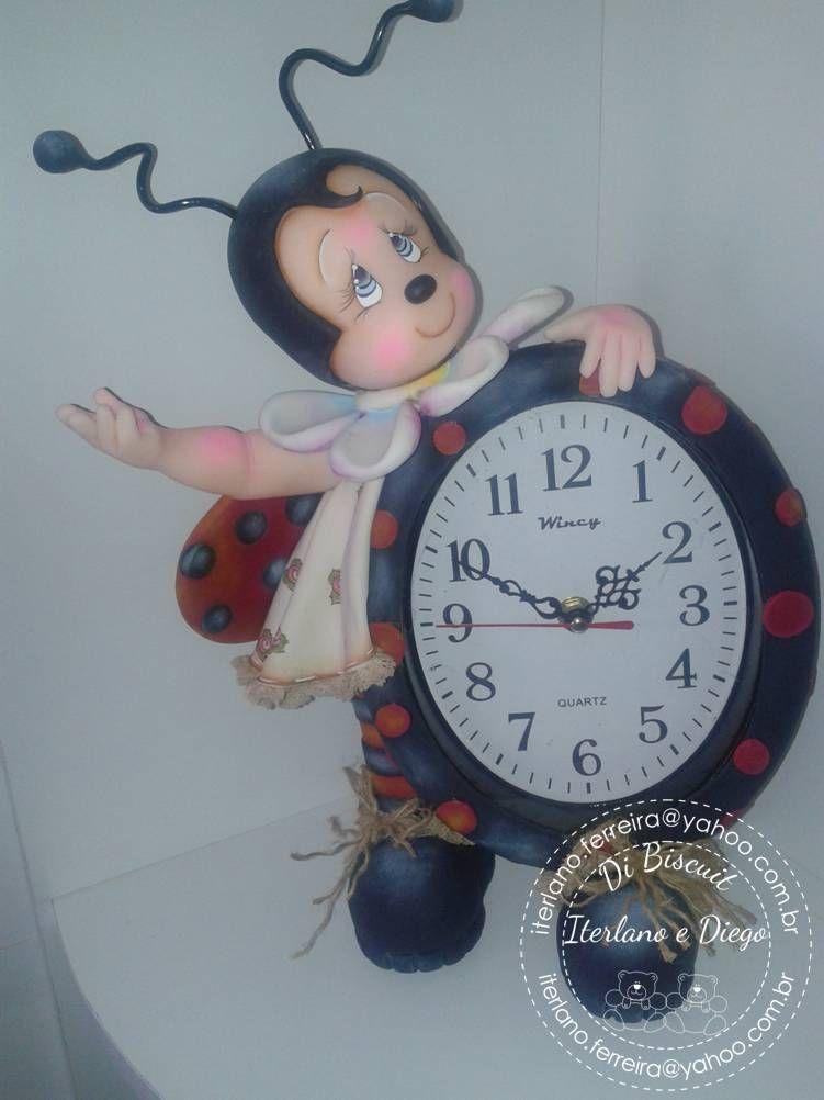 Reloj Coquita Eva Pinterest Porcelana Porcelana