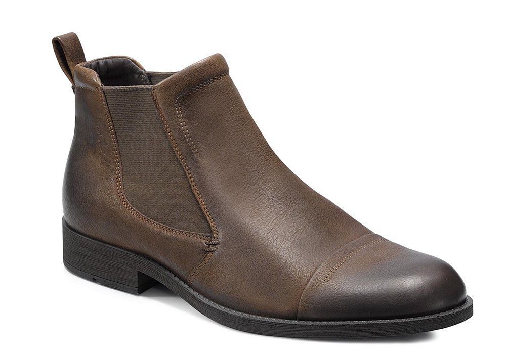 23ed2f9d85ce Ecco Birmingham Mens Pull On Chelsea Boot 631024-02034 - Robin Elt Shoes  http