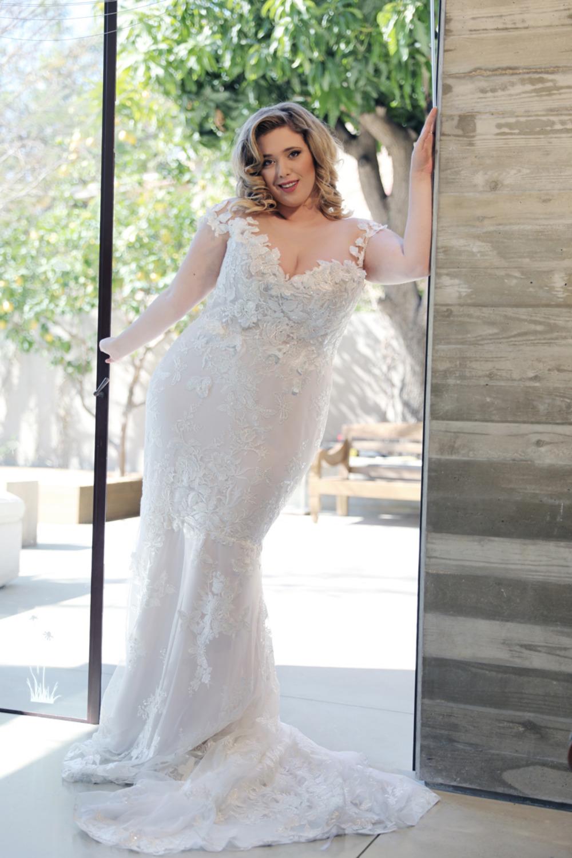 Studio Levana Curvy Babe Bridal Collection Plus size
