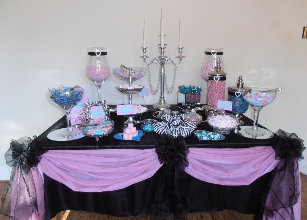 Vintage Glamour Sweet Buffet by Grand Design Weddings and Events