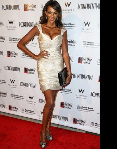 Judith Shekoni wearing Alejandra G. Shoes. Celebrity Style