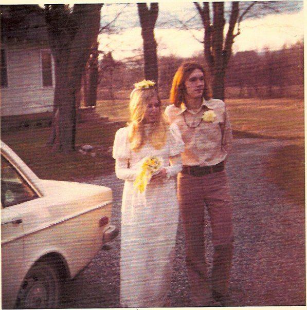 Vintage 70's Bridal