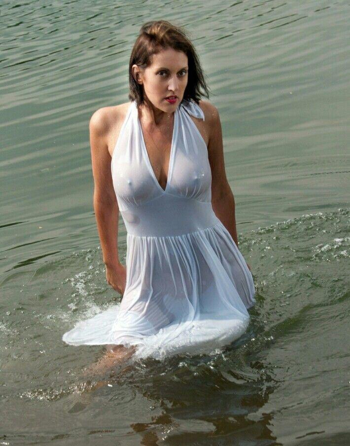 Pin by Phil N on Wet Tee | Wet dress, Bridal gowns mermaid