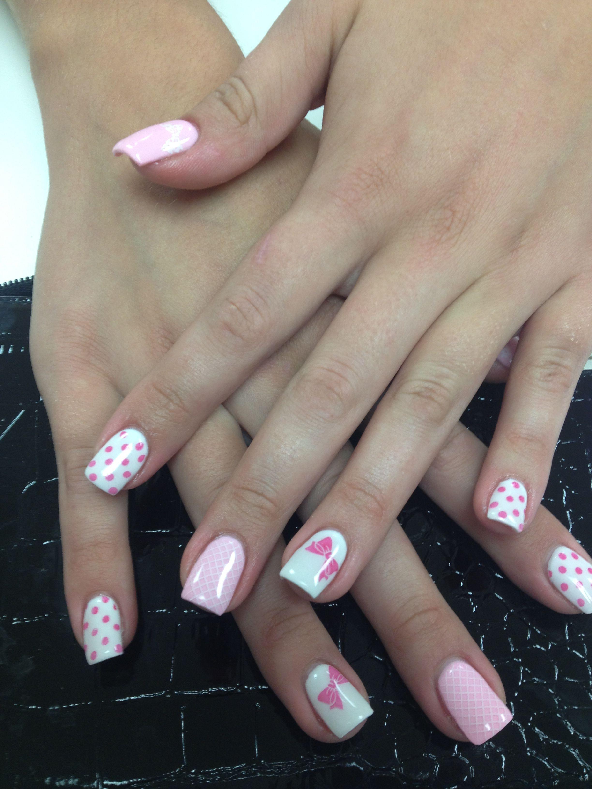 Gel nails full color   Nail ideas   Pinterest