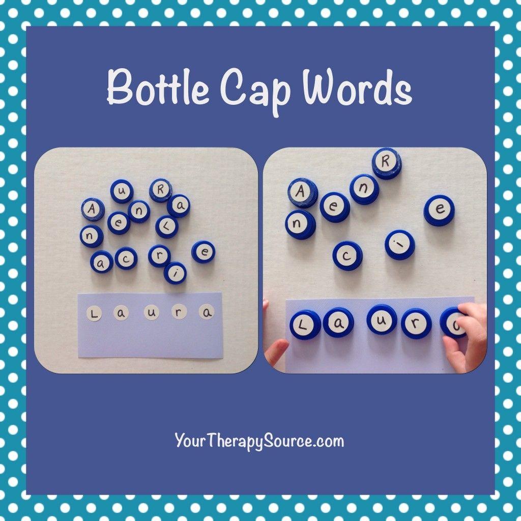 Bottle Cap Words