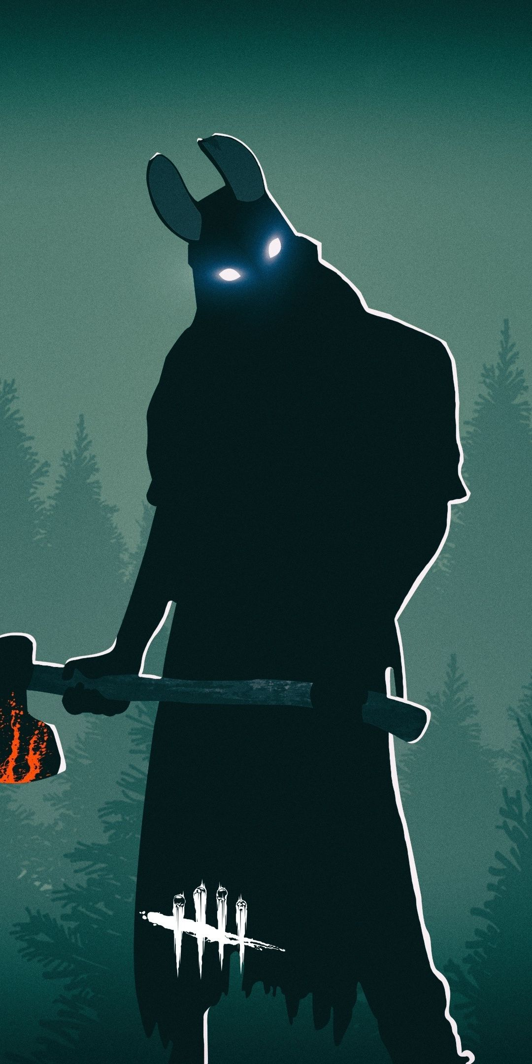 Dead By Daylight The Huntress Video Game Artwork 1080x2160