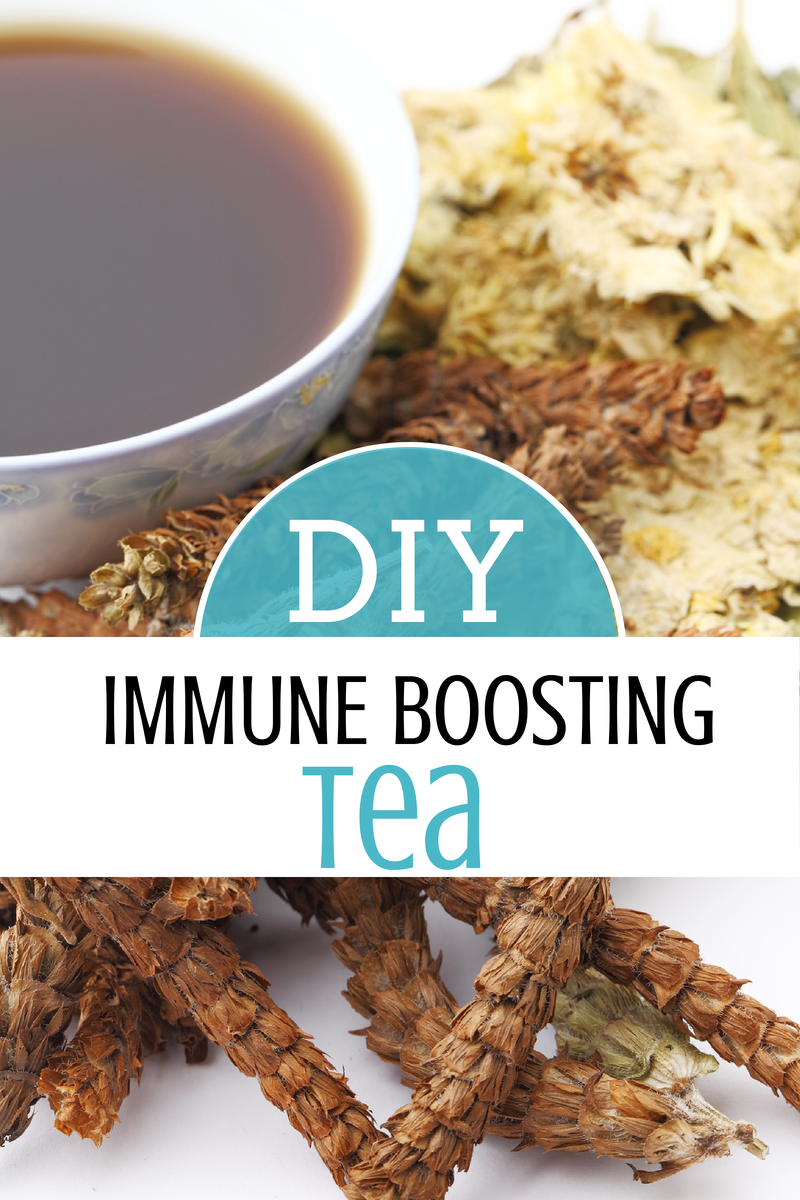 {DIY} Immune Boosting Herbal Tea - Intoxicated On Life