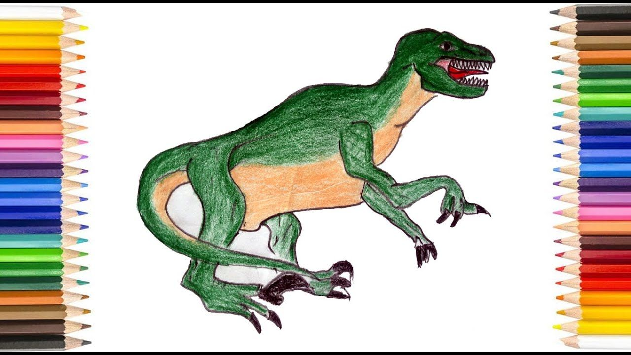 Dinosaur Drawing How To Draw Dinosaurs Easy كيفية رسم ديناصور للاطفال Dinosaur Drawing Dinosaur Drawings