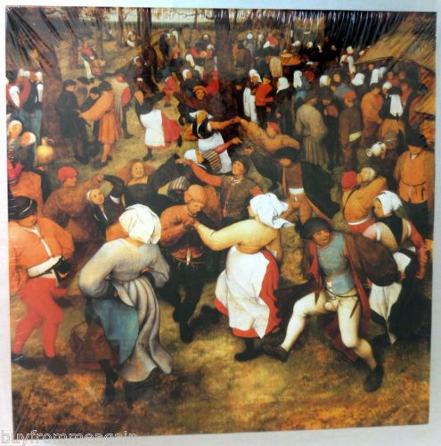 The Wedding Dance Pieter Bruegel Elder 500 Jigsaw Puzzle NEW 18x24