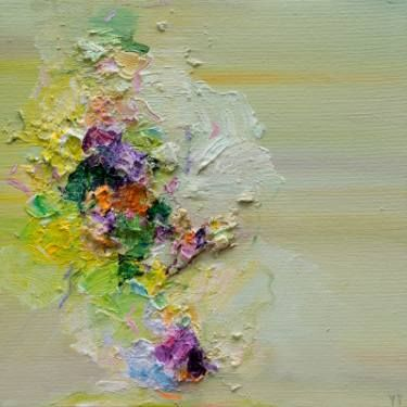 "Saatchi Art Artist Yangyang pan; Painting, ""April Shower (sold)"" #art"