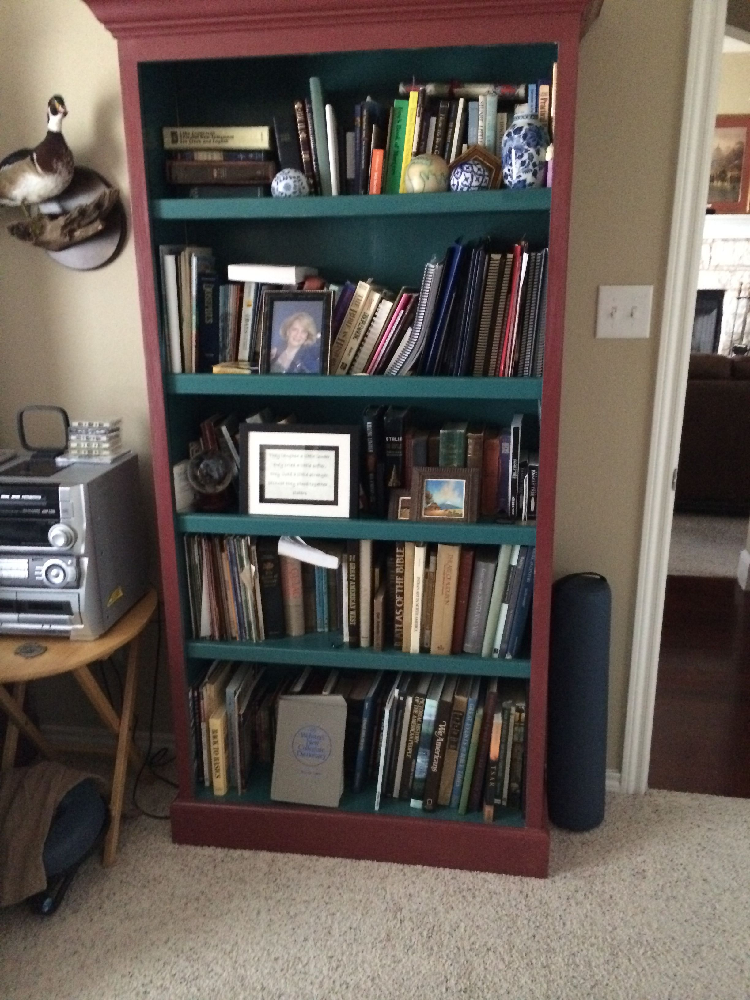 Bookcase I Made Using Plans From Norm Abram S Old Series New Yankee Work