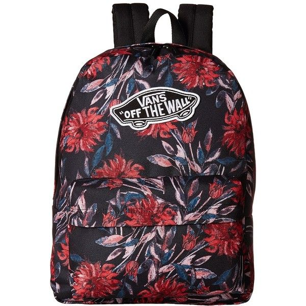 Vans Realm Backpack (Black Dahlia) Backpack Bags (€42