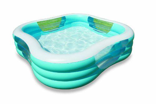 Intex Swim Center Family Pool Intex Http Www Dp B0044ad5ea Ref Cm Sw R Pi Dp E3jasb1sj2dnjdbc Family Inflatable Pool Family Pool Inflatable Pool