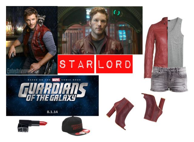 Star Lord by captain-jordan-808 on Polyvore featuring polyvore and art
