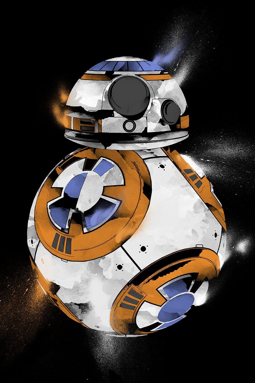BB8 inspired art