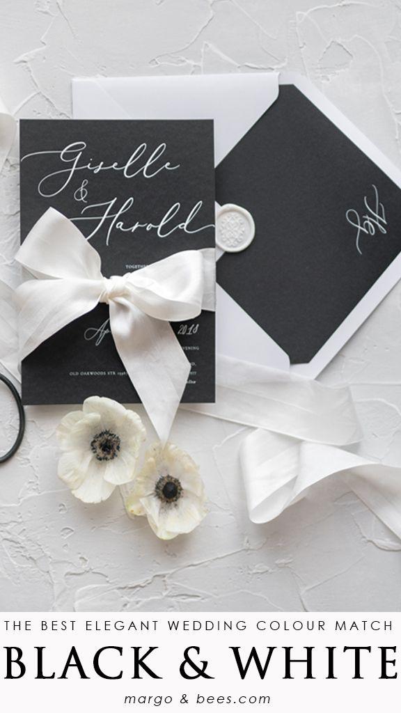 Wedding Invitations Romantic 03 Cgn Z Video Video Black And White Wedding Invitations Elegant Wedding Invitations Handmade Wedding Invitations