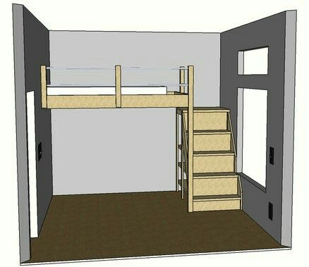 Pin By Sarah Vorhies On Bunk Bed Loft Bed Plans Bunk
