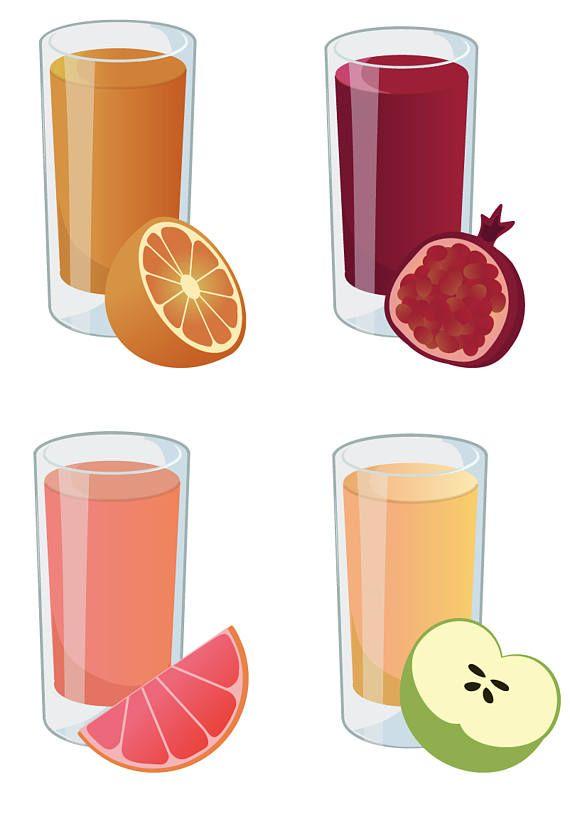 juice clipart - fresh smoothie