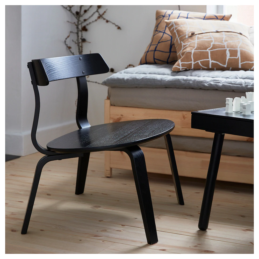 VÄRMER Chair black IKEA (With images) Cozy furniture