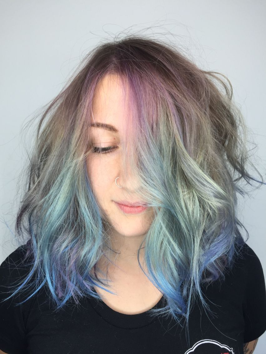Pastel Hair Color Balayage Specialist San Diego Andie Jones Hair