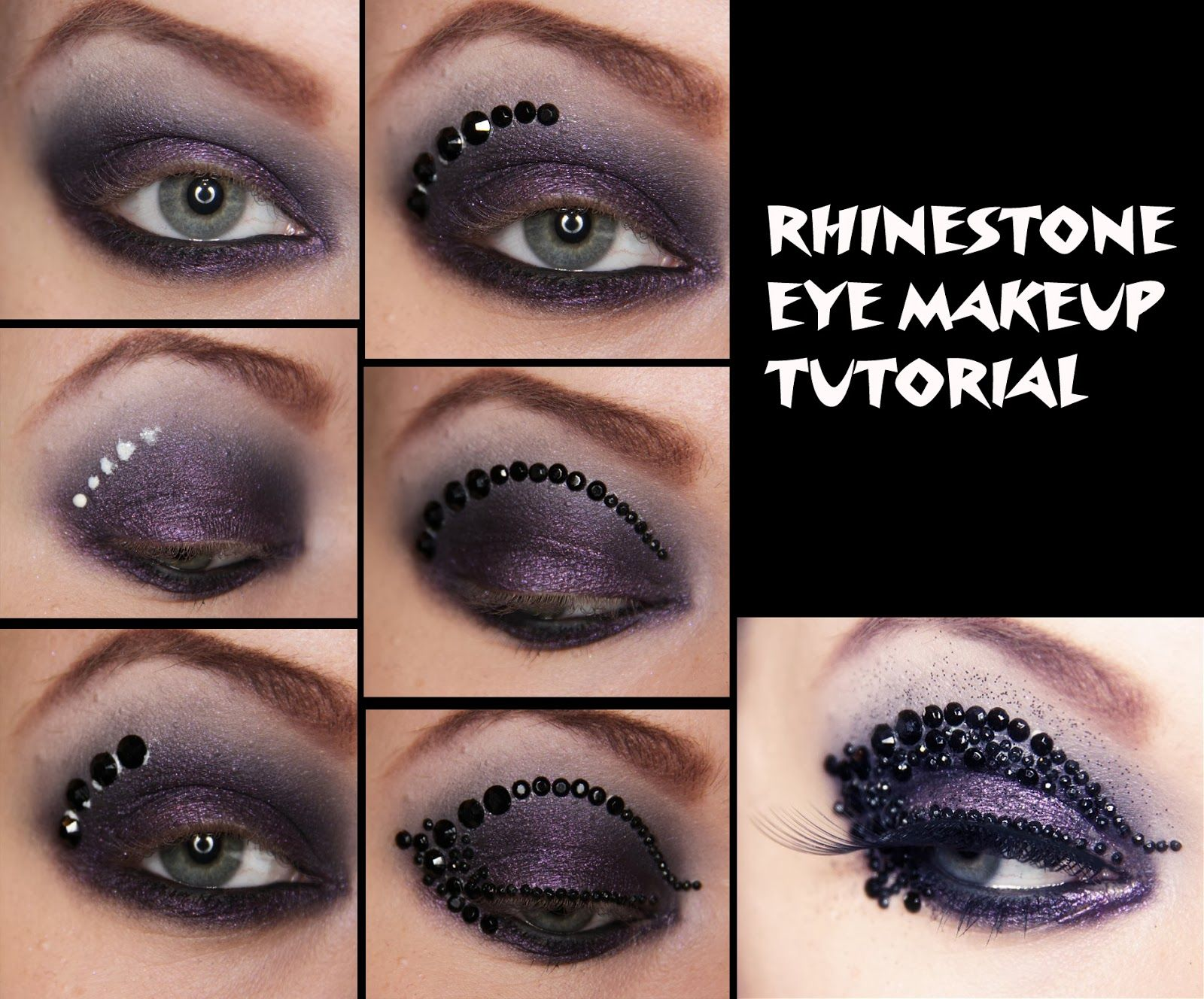 Stunning crystal eyeshadow makeups for every gorgeous woman diy makeup baditri Image collections