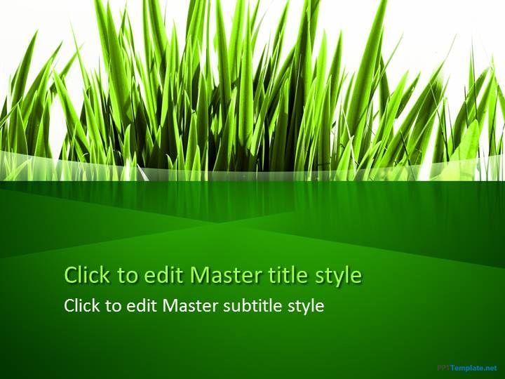 Free green grass ppt template for presentations on agriculture and free green grass ppt template for presentations on agriculture and going green powerpoint templates toneelgroepblik Images