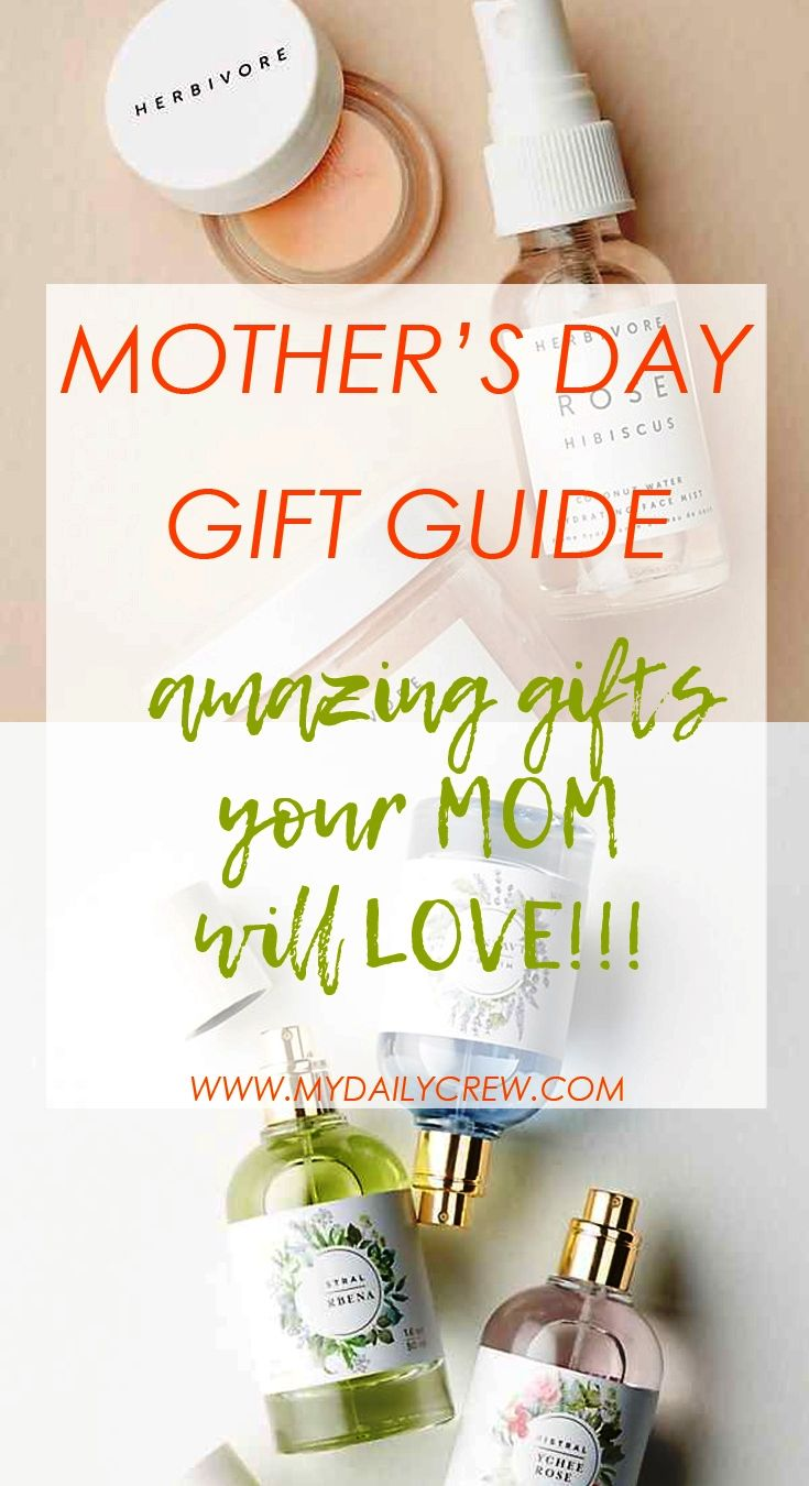 Mother's Day Gift Guide (for moms who love fashion, self