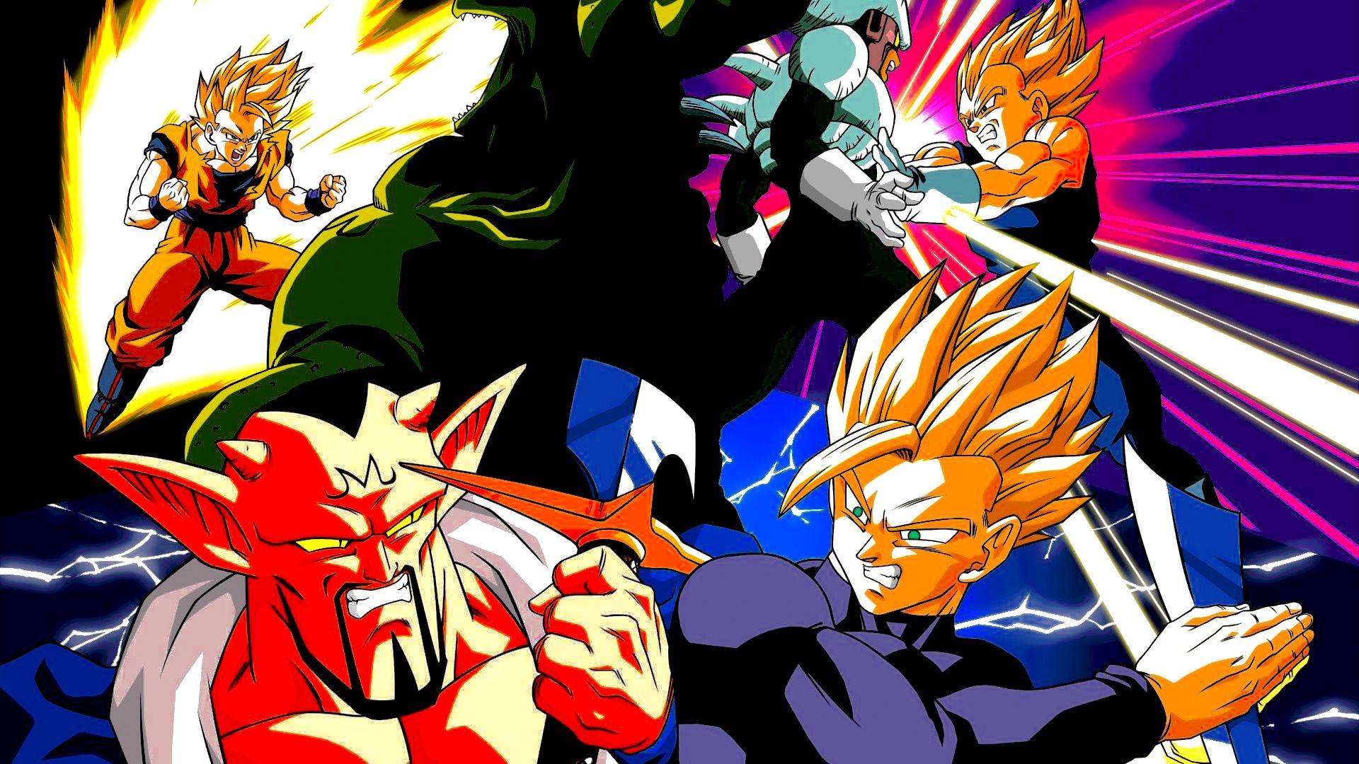 The Battle To Babidi Songokukakarot Dragon Ball Dragon Ball Z Dragon Ball Art