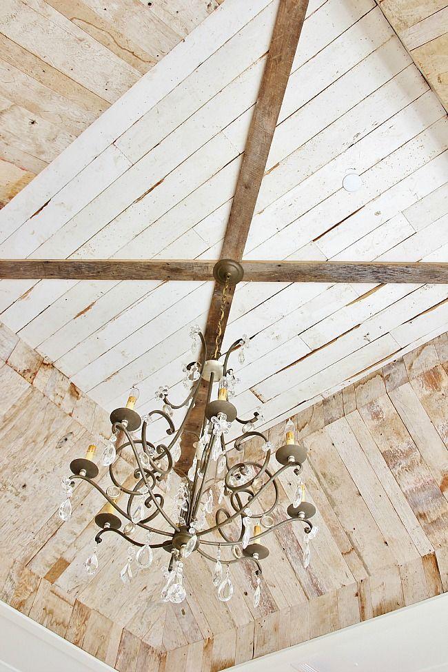 Modern Farmhouse Tour Thistlewood Farm Ceiling Detail Thistlewood Farms House Styles
