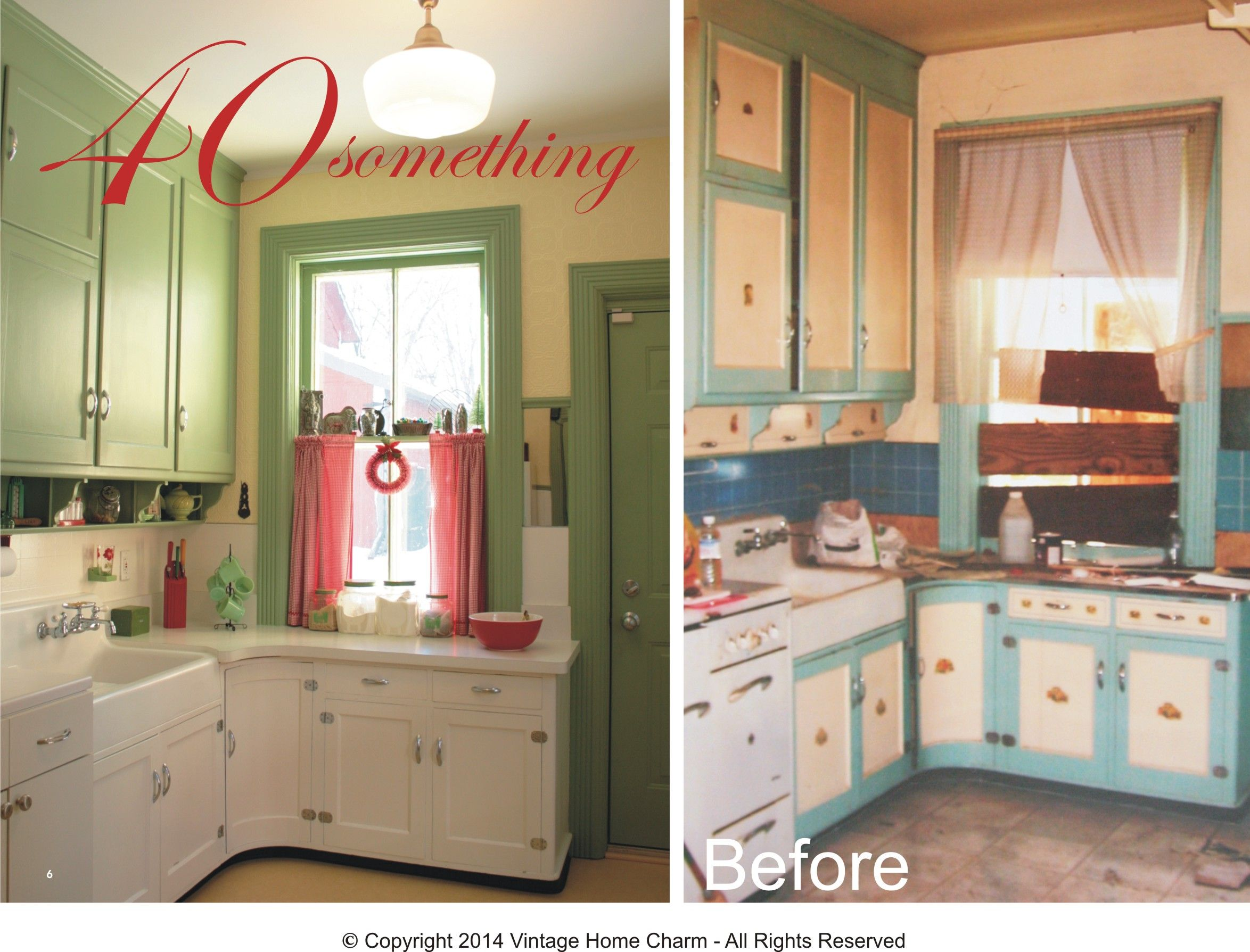 Restyling a s vintage kitchen without major remodel Vintage