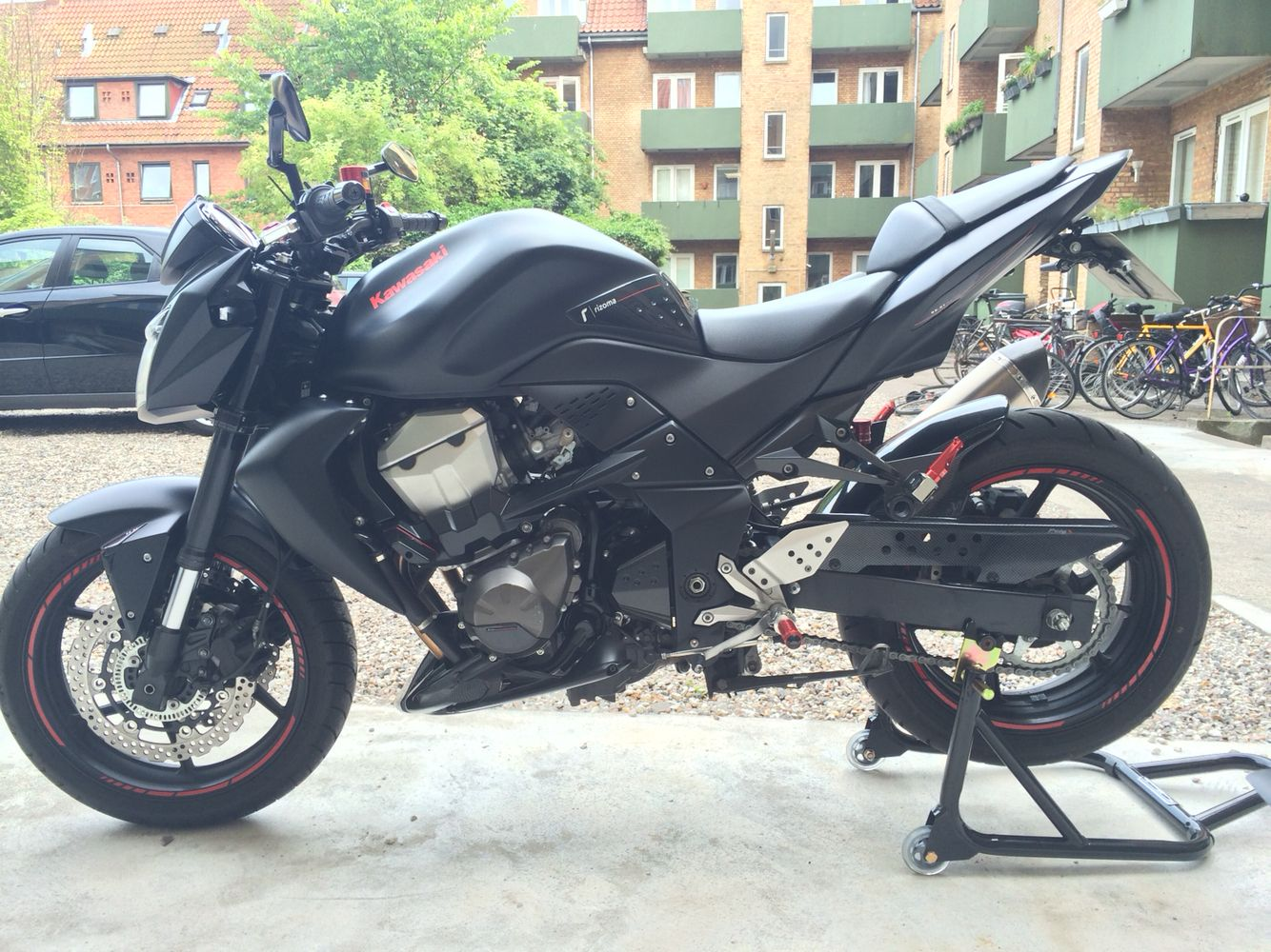 Kawasaki Z750 Rizoma Inspired Devil My Love