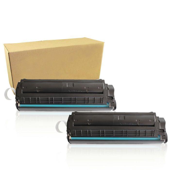 2pk Black 104 Fx9 Toner Cartridge For Canon 104 Imageclass Mf4350d