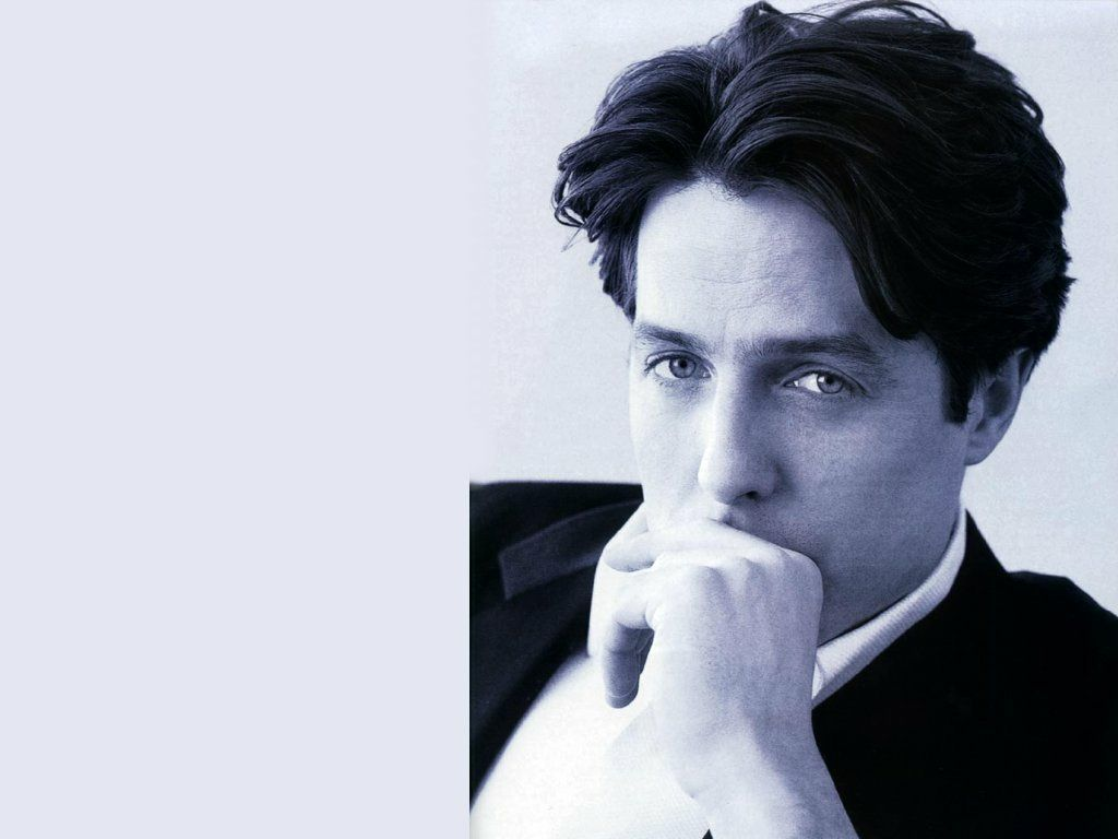 Hugh Grant : The brooding, poetical guy.