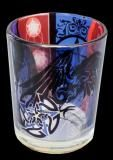 Pentacle Raven Votive Candle Holder