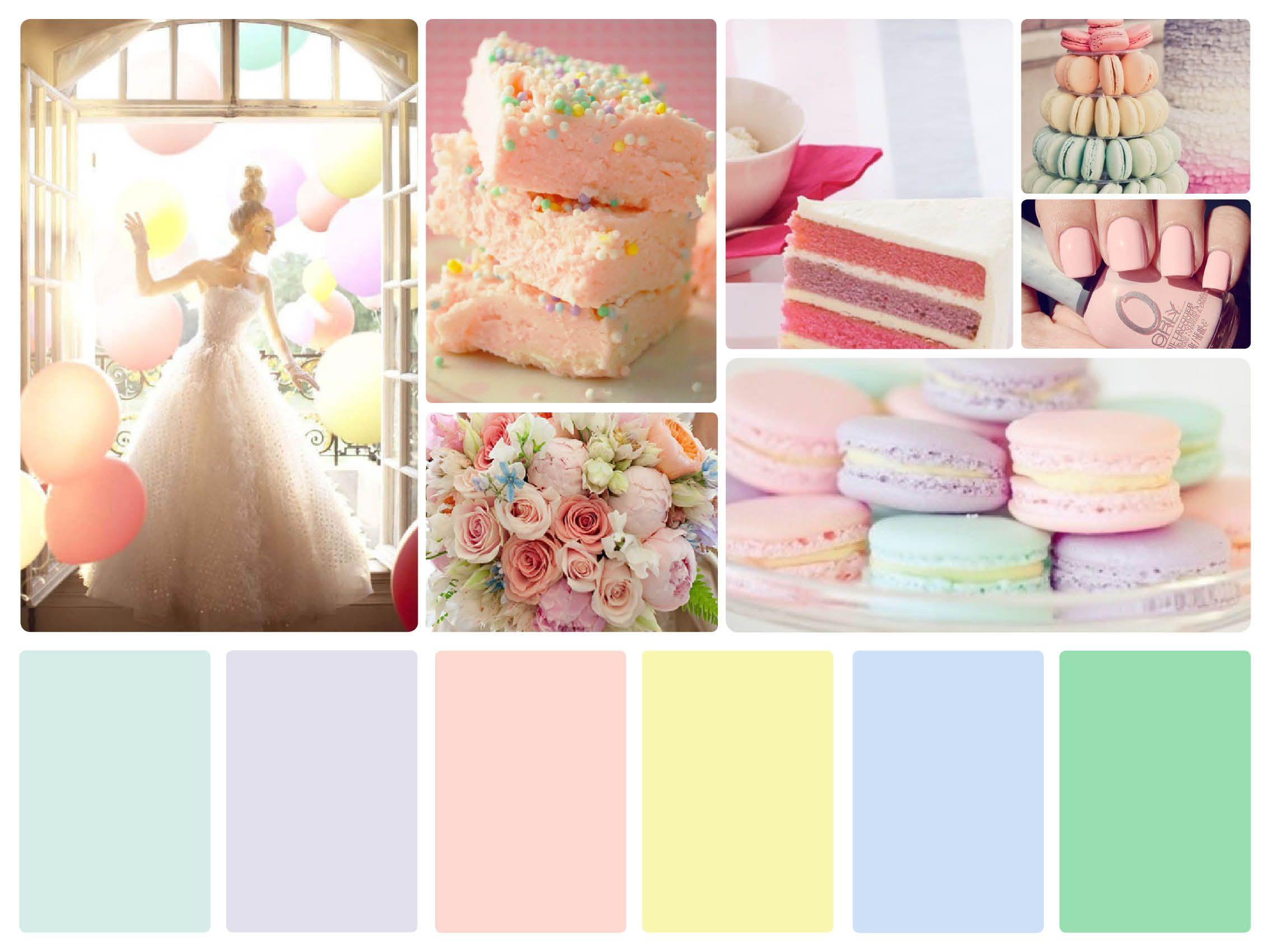 Pastel Color Palette Wedding Google Search Wedding