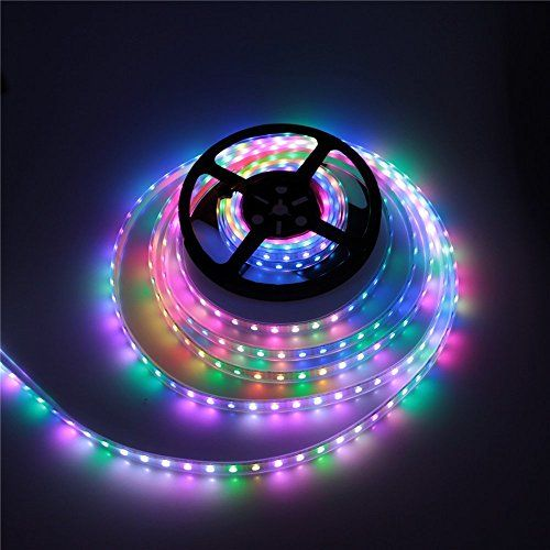 Color Changing Rope Lights Enchanting Marswell Flexible Led Light Strip 164Ft Rgb 300 Leds Rope Lighting Inspiration Design