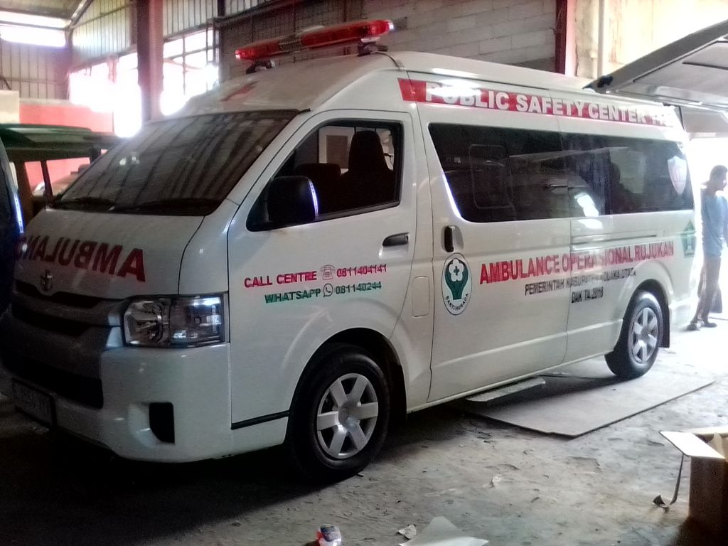 Jual Ambulance Toyota Hiace Ambulans Toyota Merek Mobil