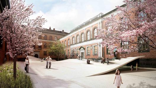 Museo de Historia Natural / Kengo Kuma & Associates + Erik Møller Arkitekter + JAJA Architects   Plataforma Arquitectura