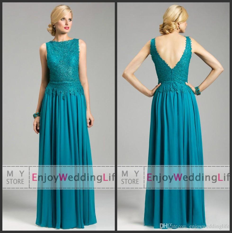 2016 New Arabic Sheer Long Sleeves Lace Evening Dresses Fuchisia ...