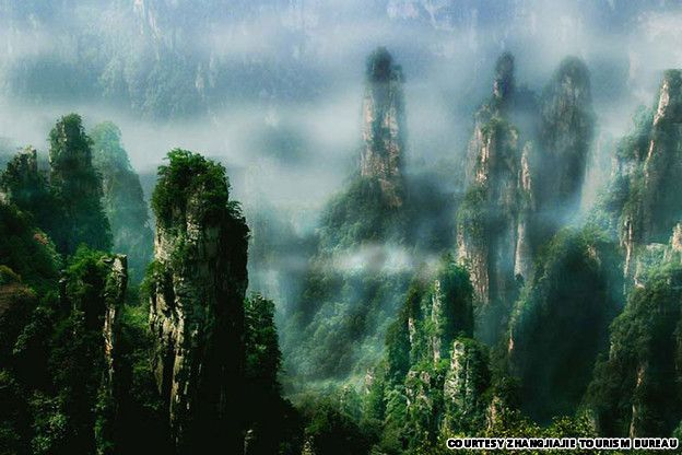 40 China beautiful places -- zhangjiajie