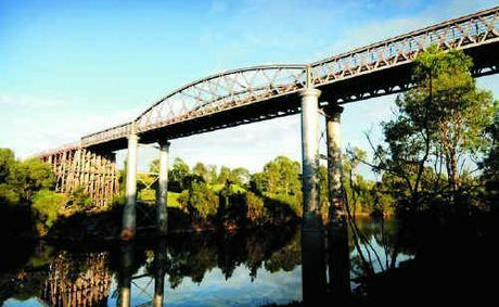 Dickabram Bridge, Miva, Queensland… over 100 years old...