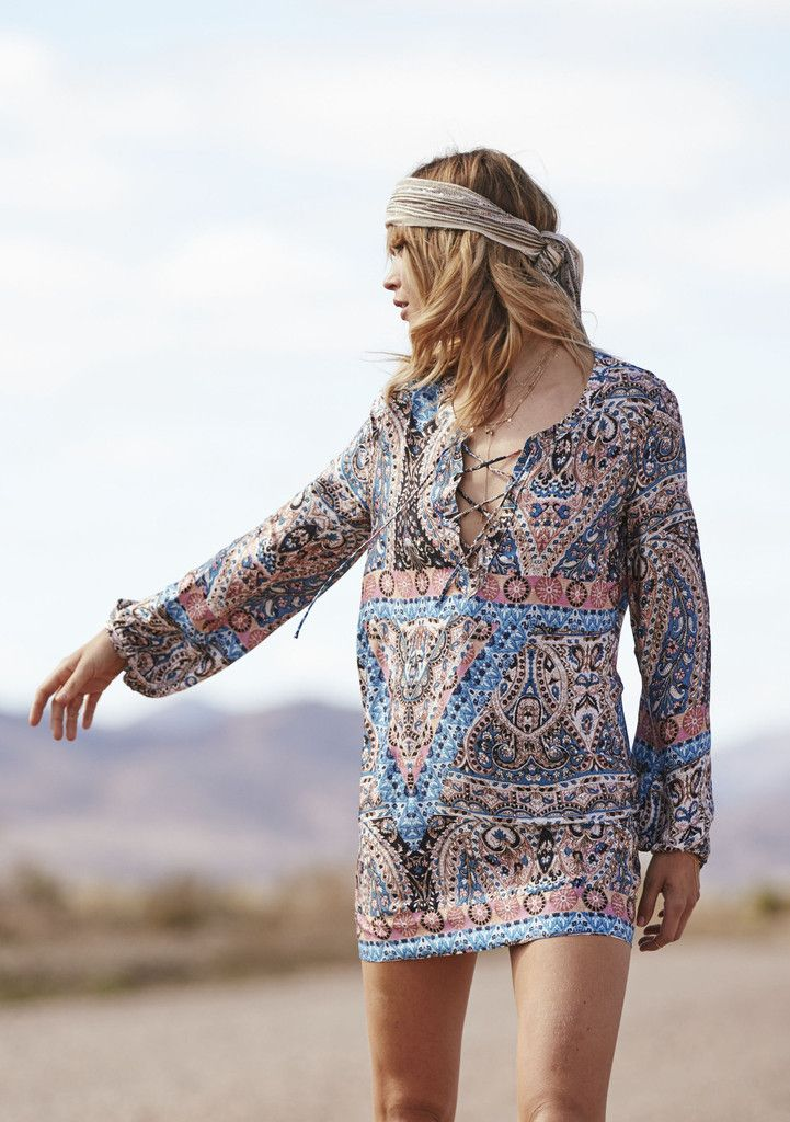870d3124e5 Auguste - Vagabond Gypset Shift Dress Nirvana | WARDROBE | Fashion ...
