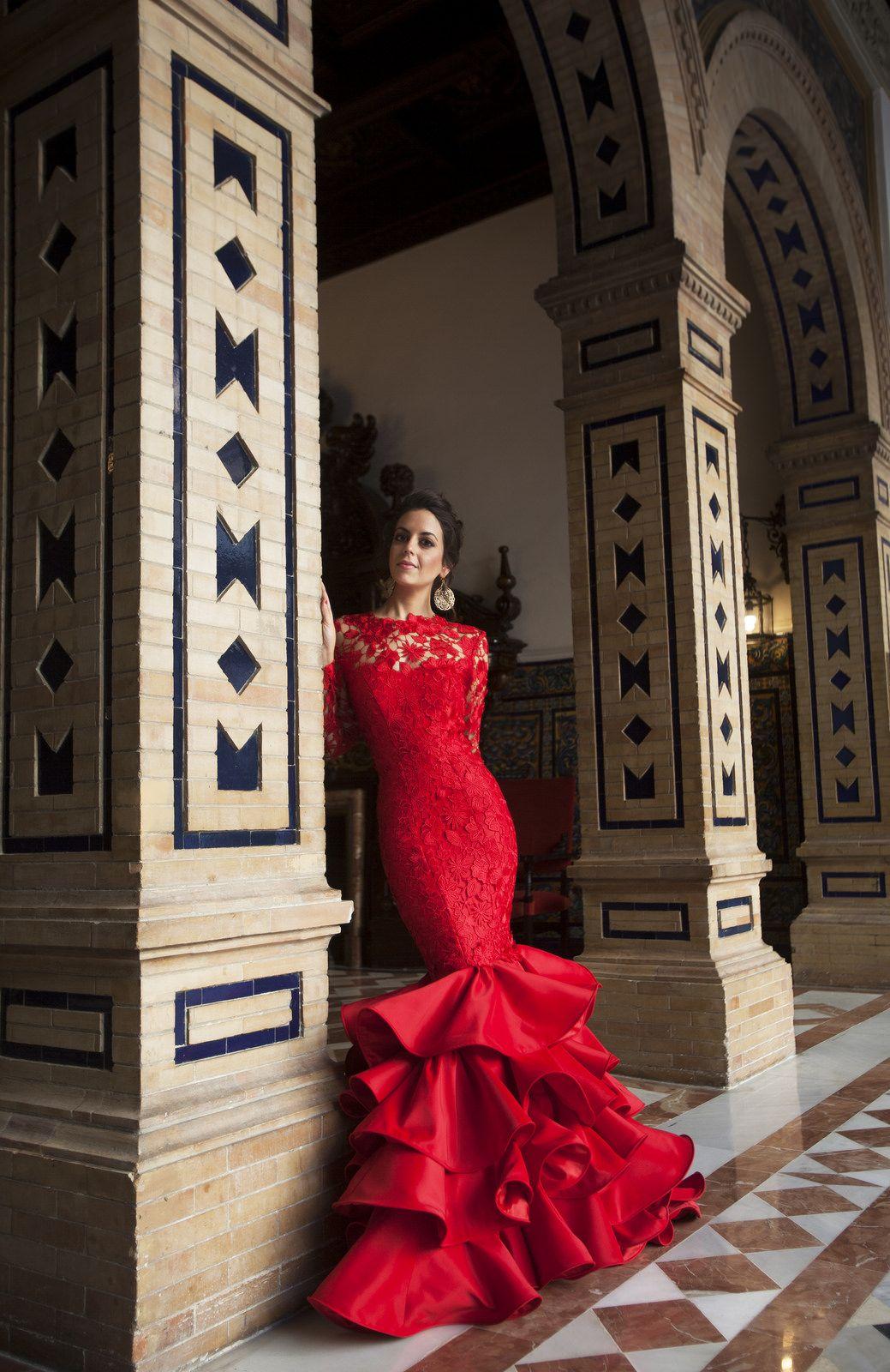 Vestidos fiesta flamencos